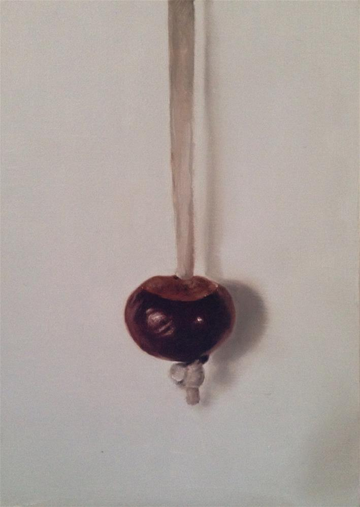 """Conker"" original fine art by James Coates"
