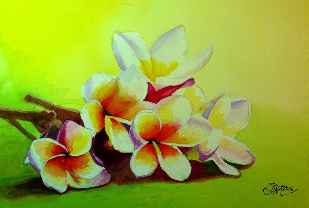 """Flowers"" original fine art by John Monney"