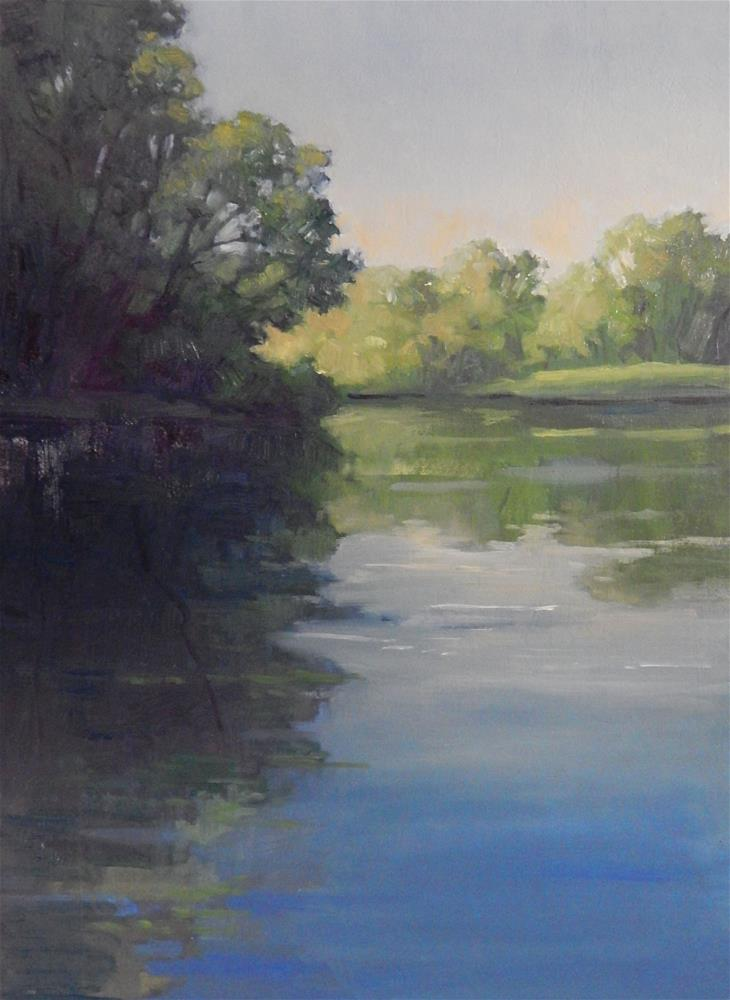 """Spring Morning"" original fine art by Lisa Kyle"