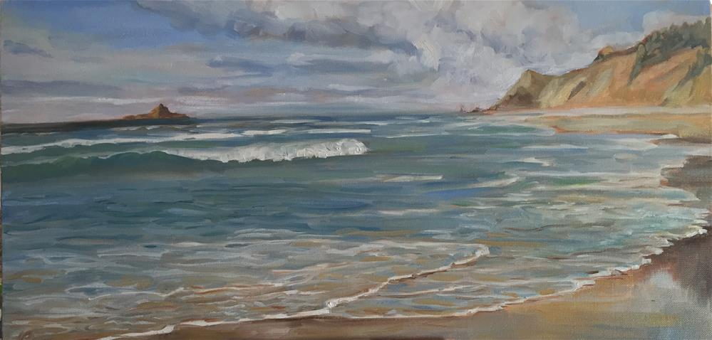 """Cascade Head, OR"" original fine art by Natasha Ramras"