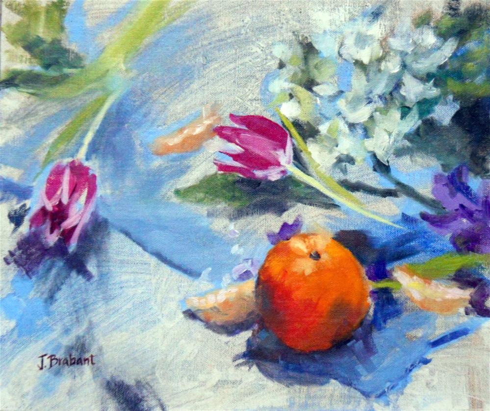 """Orange You Glad"" original fine art by Jill Brabant"