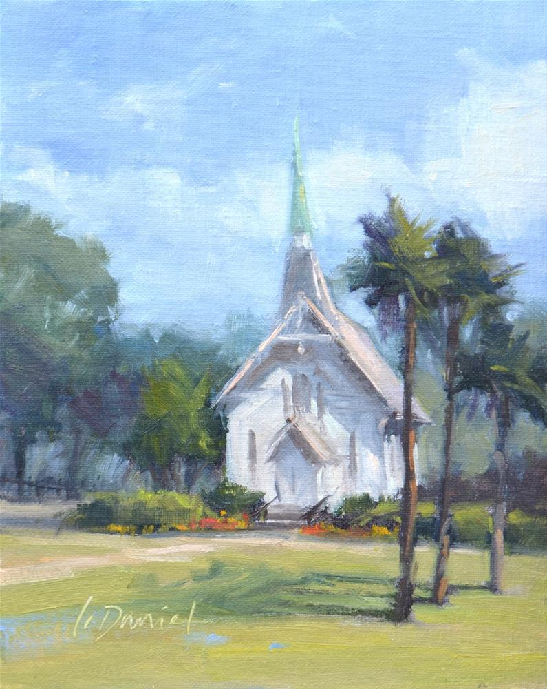 """Lovely Lane Shadows - Georgia Coast"" original fine art by Laurel Daniel"