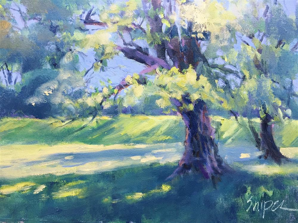 """The Grounds of the Mint Museum"" original fine art by Connie Snipes"
