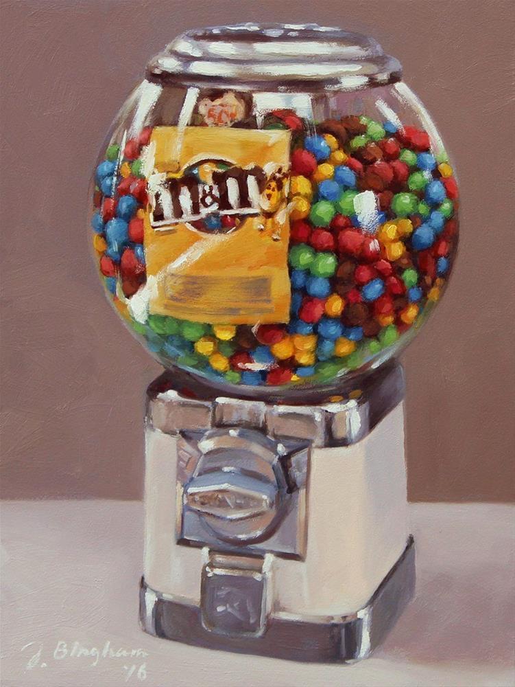 """Candy Machine"" original fine art by Joanna Bingham"