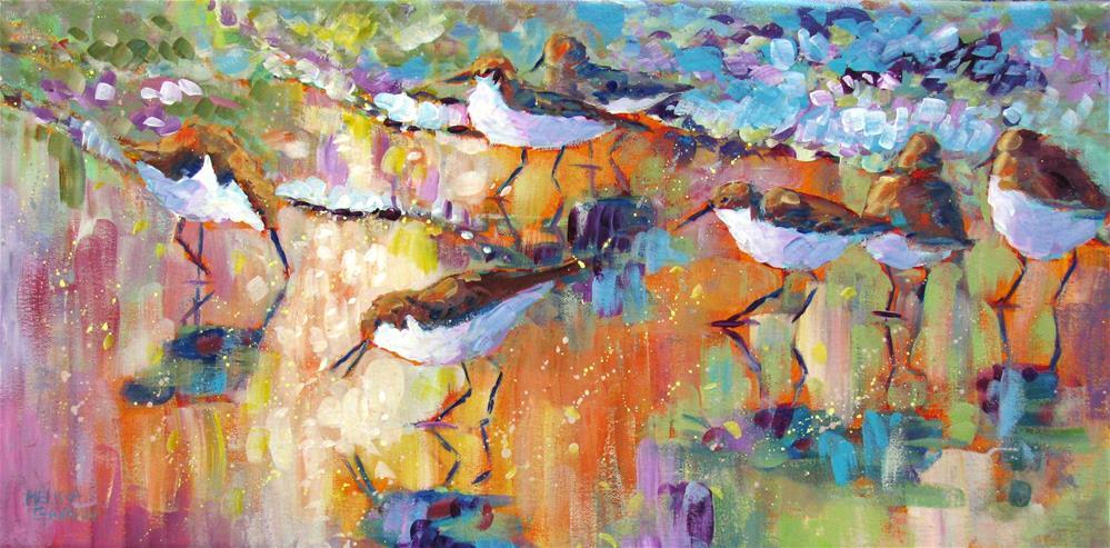 """""""Beach Sparkle"""" original fine art by Melissa Gannon"""