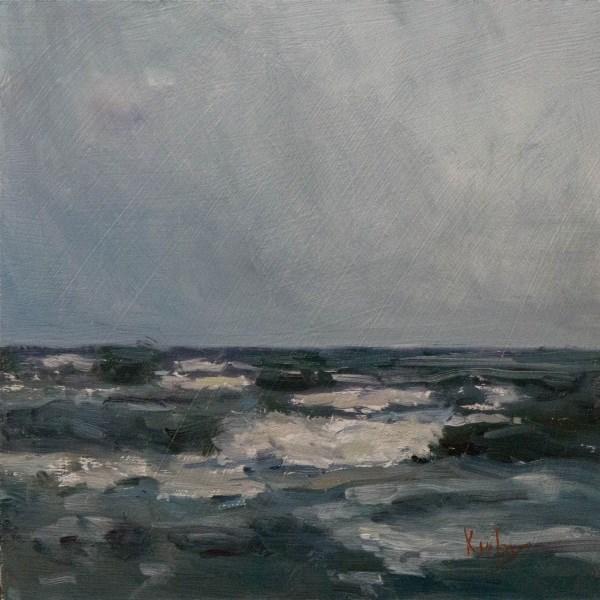 """Coastal Showers"" original fine art by Randall Cogburn"