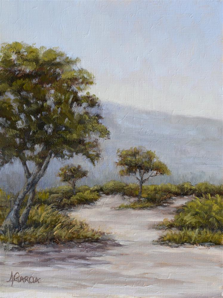 """Peaceful Path"" original fine art by Jeannie Garcia"