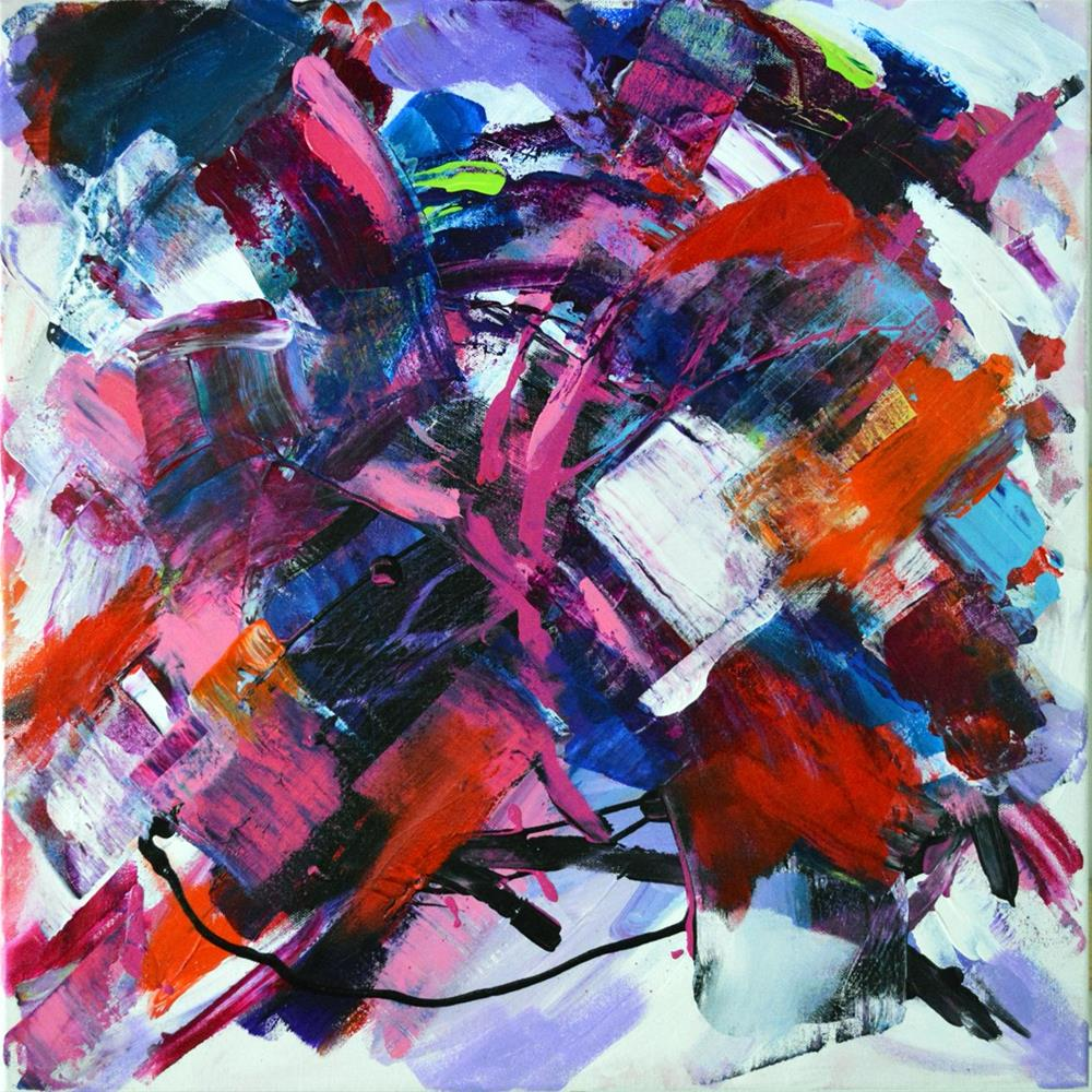 """""""Better Late Than Never"""" original fine art by Pamela Gatens"""