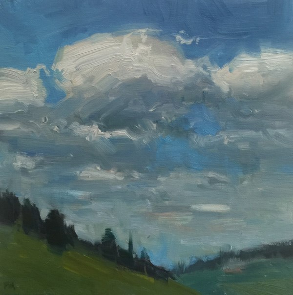 """Royal Clouds at King Estate"" original fine art by Patti McNutt"