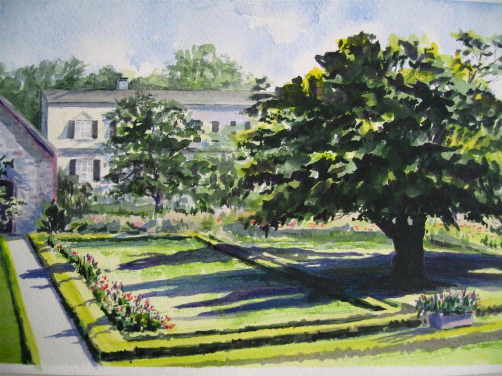 """Adams National Historical Park, MA"" original fine art by Judith Freeman Clark"