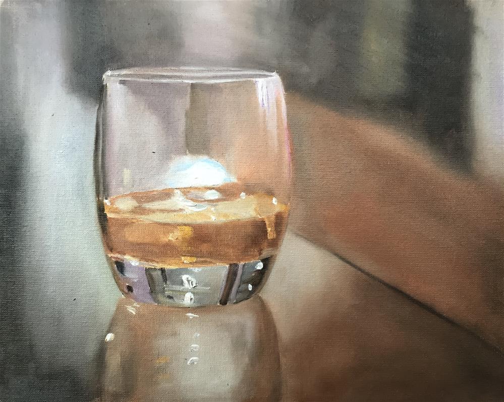 """Scotch"" original fine art by James Coates"