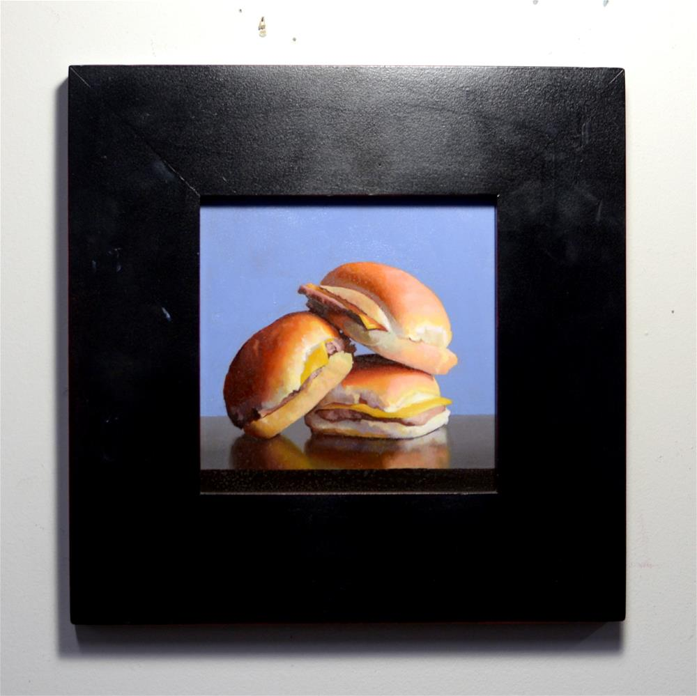"""Sliders #1"" original fine art by Brian Burt"