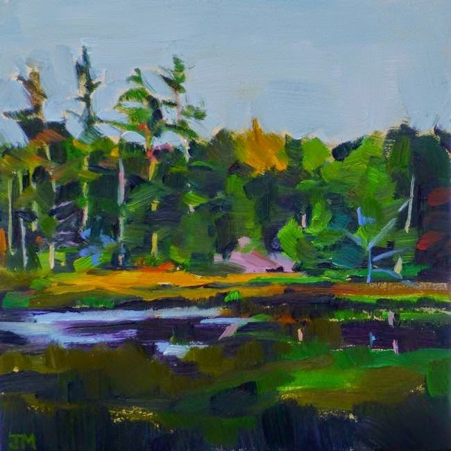 """Northern Swamp"" original fine art by Jessica Miller"