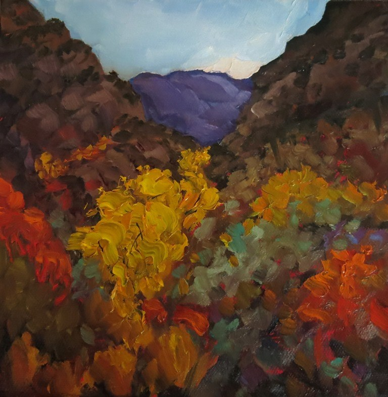 """AUTUMN MESA"" original fine art by Dee Sanchez"