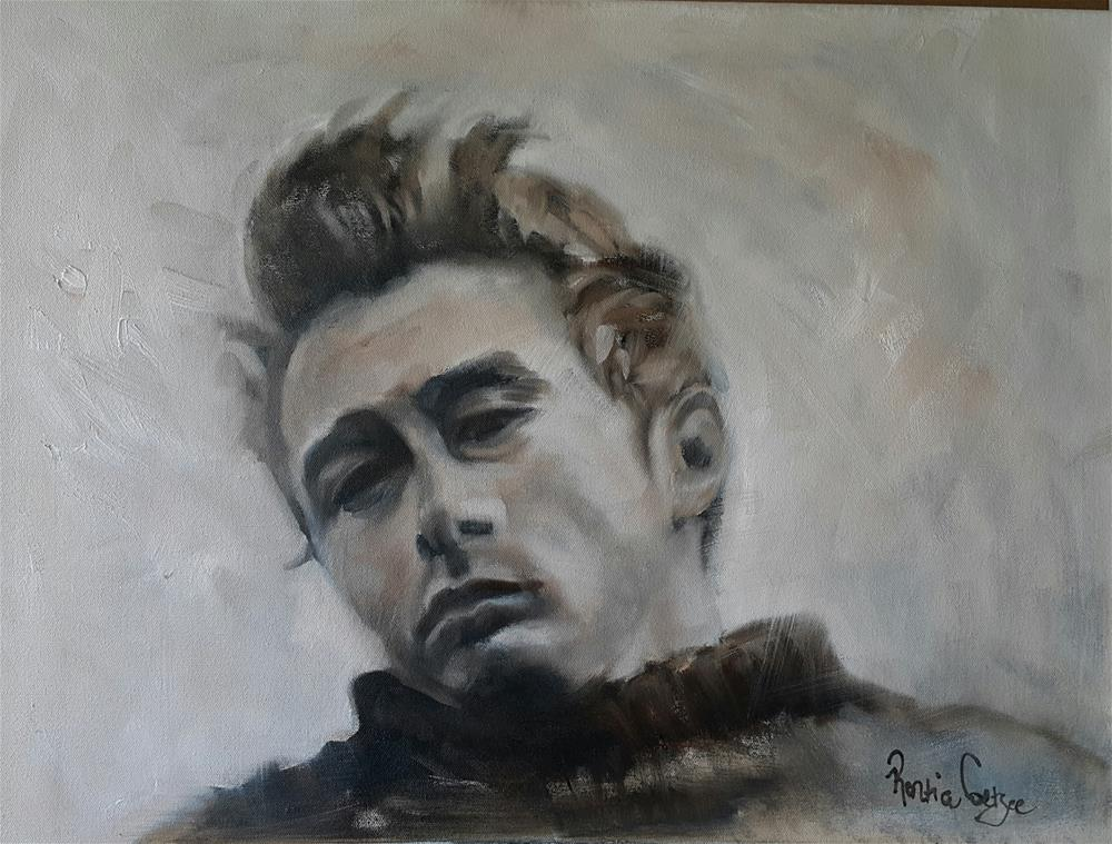 """Rebel without a cause"" original fine art by Rentia Coetzee"