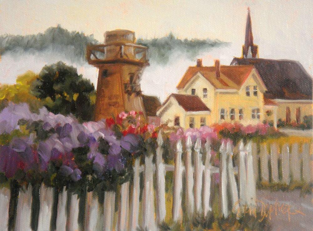 """Billowing Fog"" original fine art by Erin Dertner"
