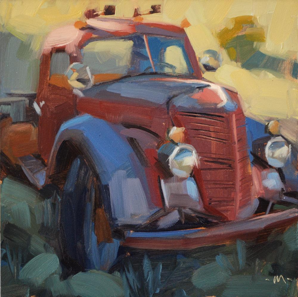 """""""Fading Fast"""" original fine art by Carol Marine"""