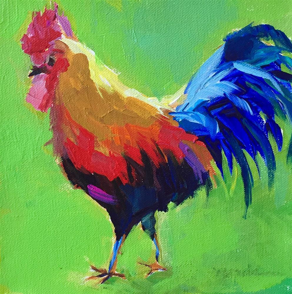"""Struttin'"" original fine art by Marcia Hodges"