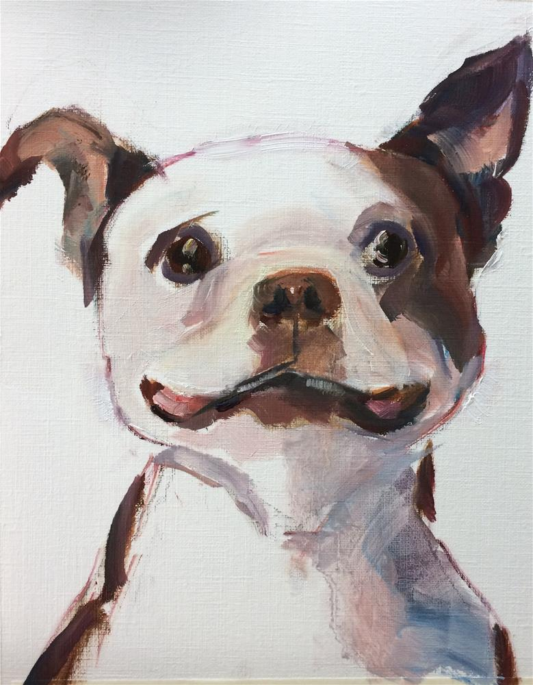 """Dog -2-"" original fine art by Naomi Bautista"