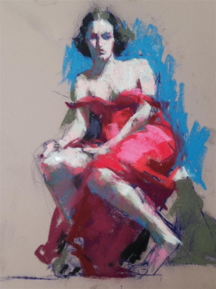 """""""Bella"""" original fine art by Margaret Dyer"""