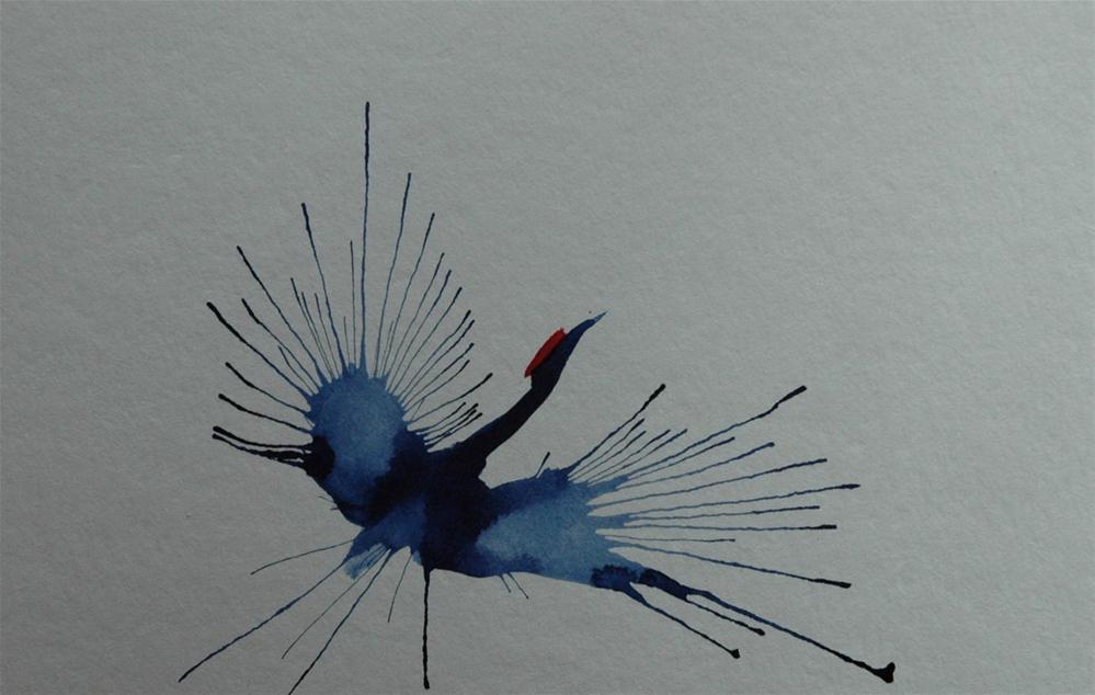 """""""Große Flügel (Great wings"""" original fine art by Ulrike Schmidt"""