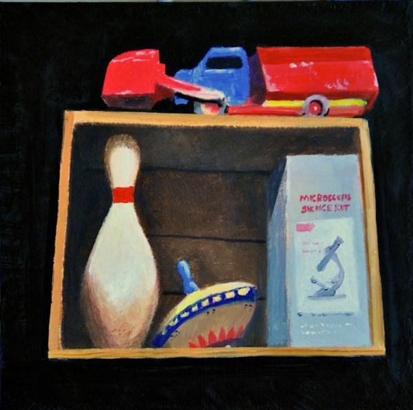 """MEMORIES"" original fine art by Gerald Schwartz"