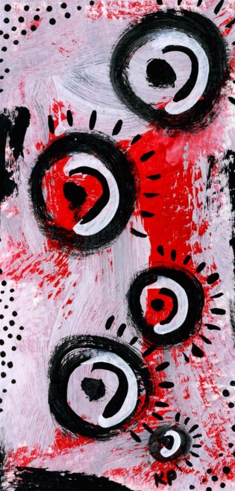 """Mohawk"" original fine art by Kali Parsons"