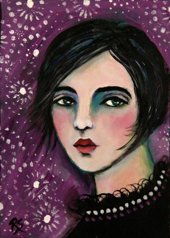 """""""Joan"""" original fine art by Roberta Schmidt"""