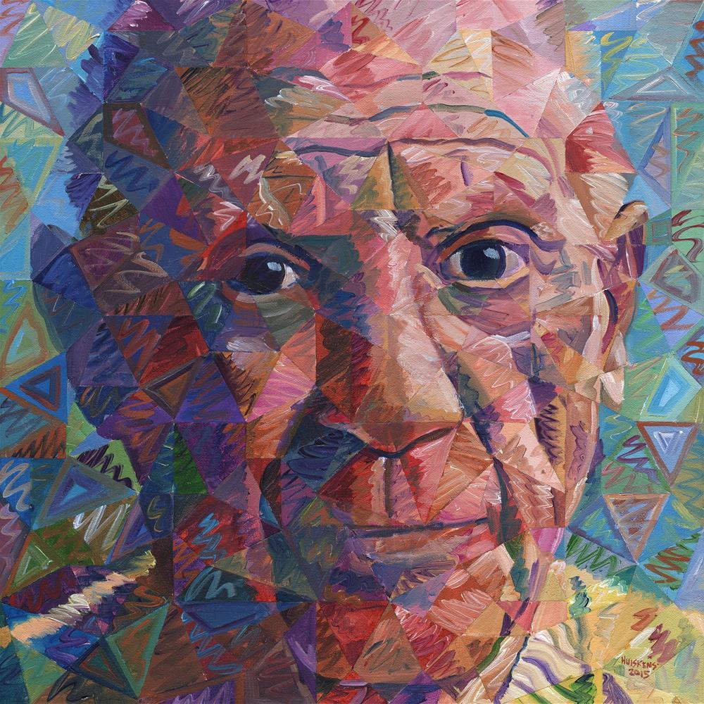 """Pablo Picasso"" original fine art by Randal Huiskens"