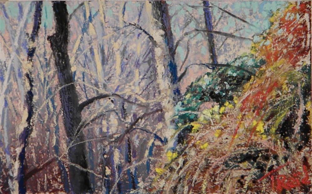 """""""Tree Patterns"""" original fine art by Toby Reid"""