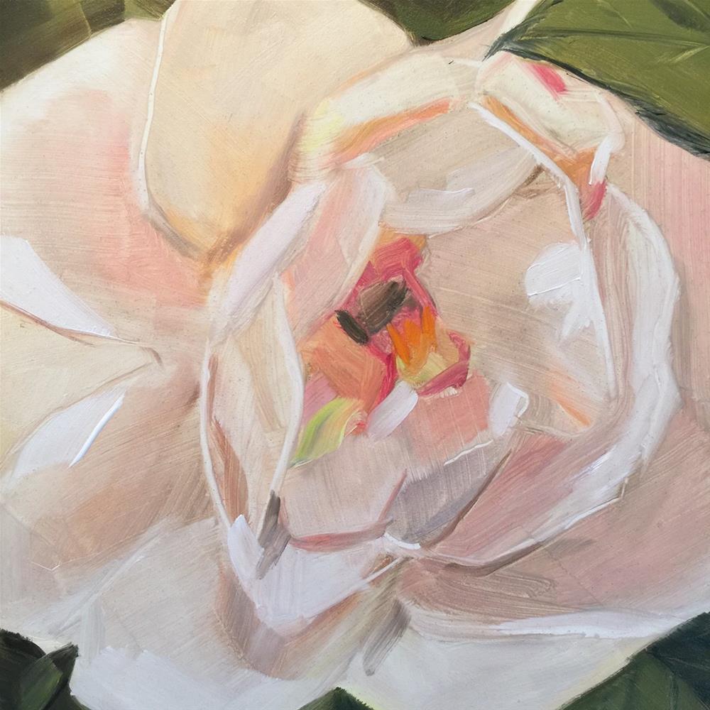 """""""216 PamelaRose"""" original fine art by Jenny Doh"""
