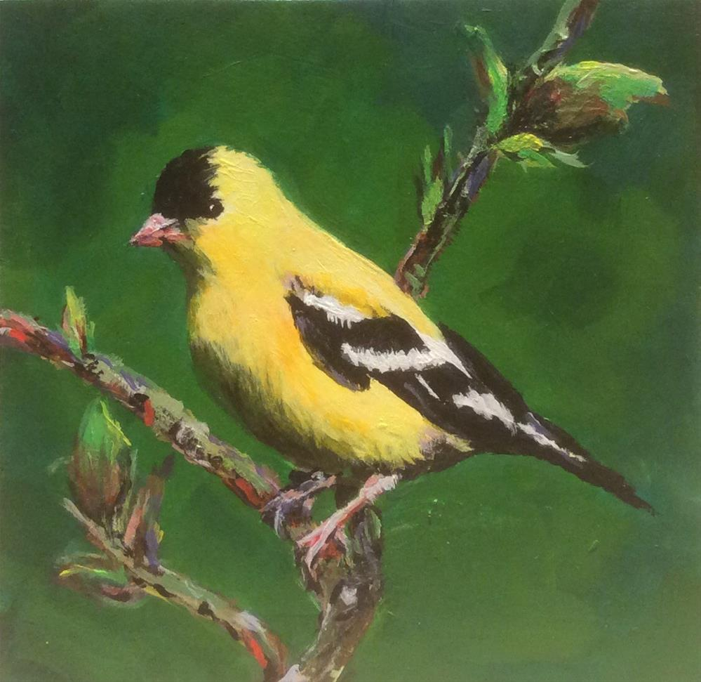 """A Sunny  Song"" original fine art by wendy black"