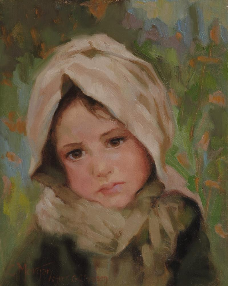 """After George Clausen"" original fine art by Cecile W. Morgan"