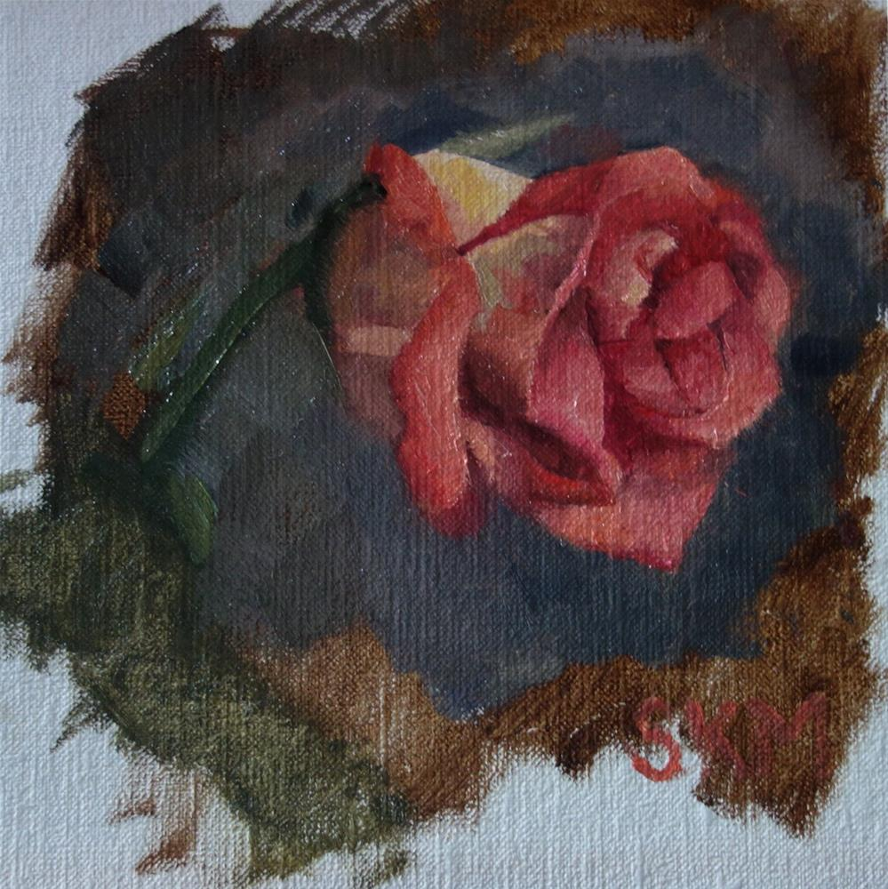 """Rose study"" original fine art by Sarah Meredith"