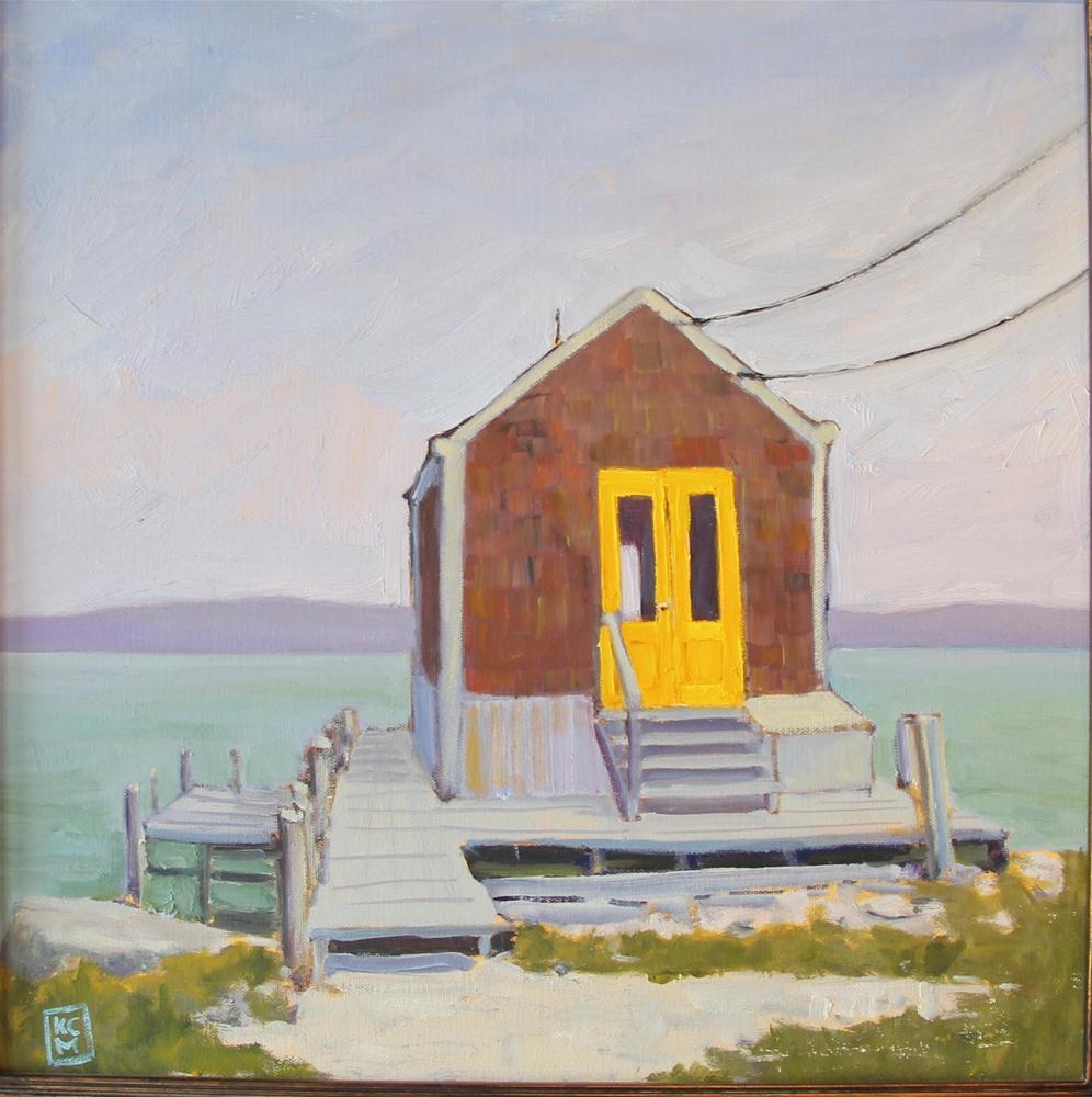 """""""Tax Free Weekend In MA"""" original fine art by Kelley MacDonald"""