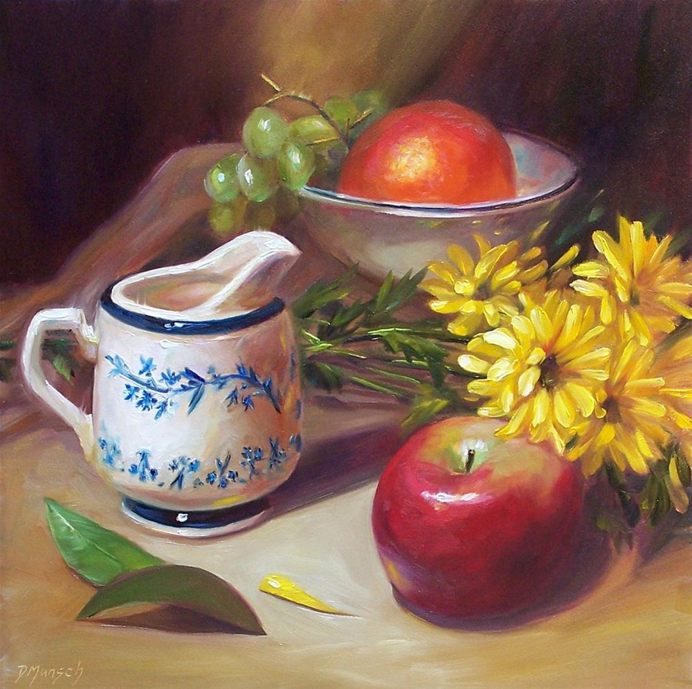 """""""Vintage Creamer"""" original fine art by Donna Munsch"""