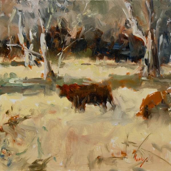 """A Winters Day"" original fine art by Randall Cogburn"
