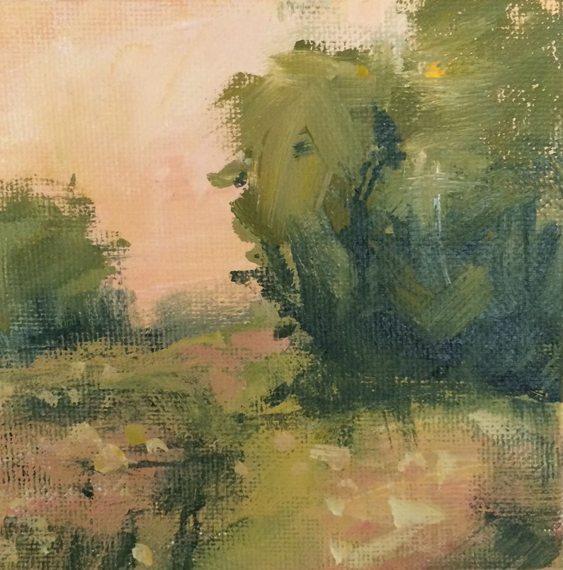 """Another Evening"" original fine art by Shannon Bauer"