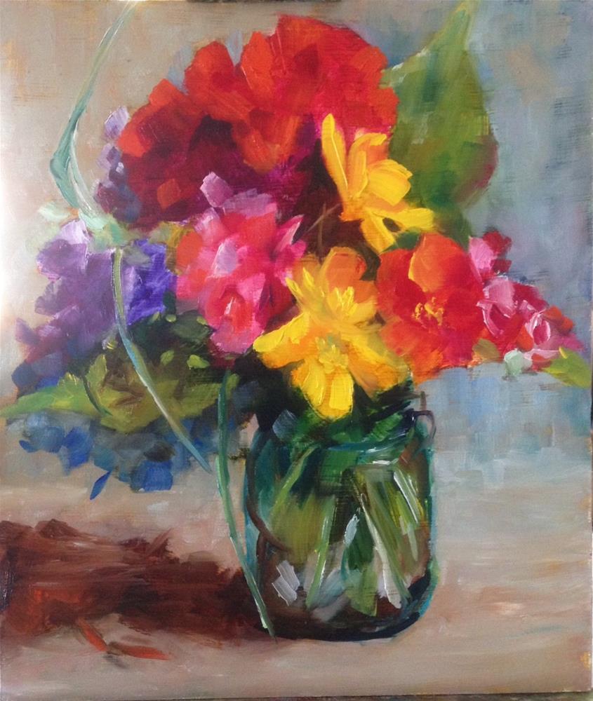 """""""Color"""" original fine art by Sue Churchgrant"""