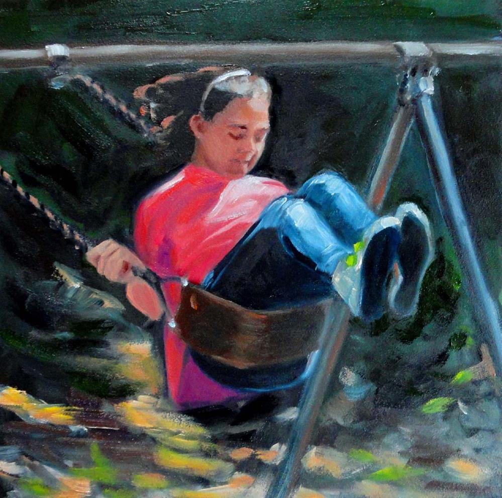 """""""Going Higher"""" original fine art by Cietha Wilson"""