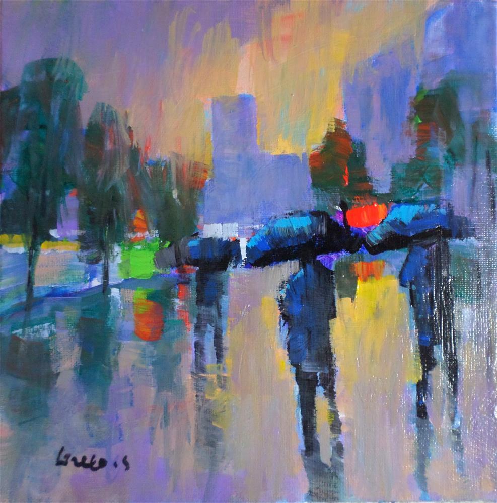 """Bad weather"" original fine art by salvatore greco"