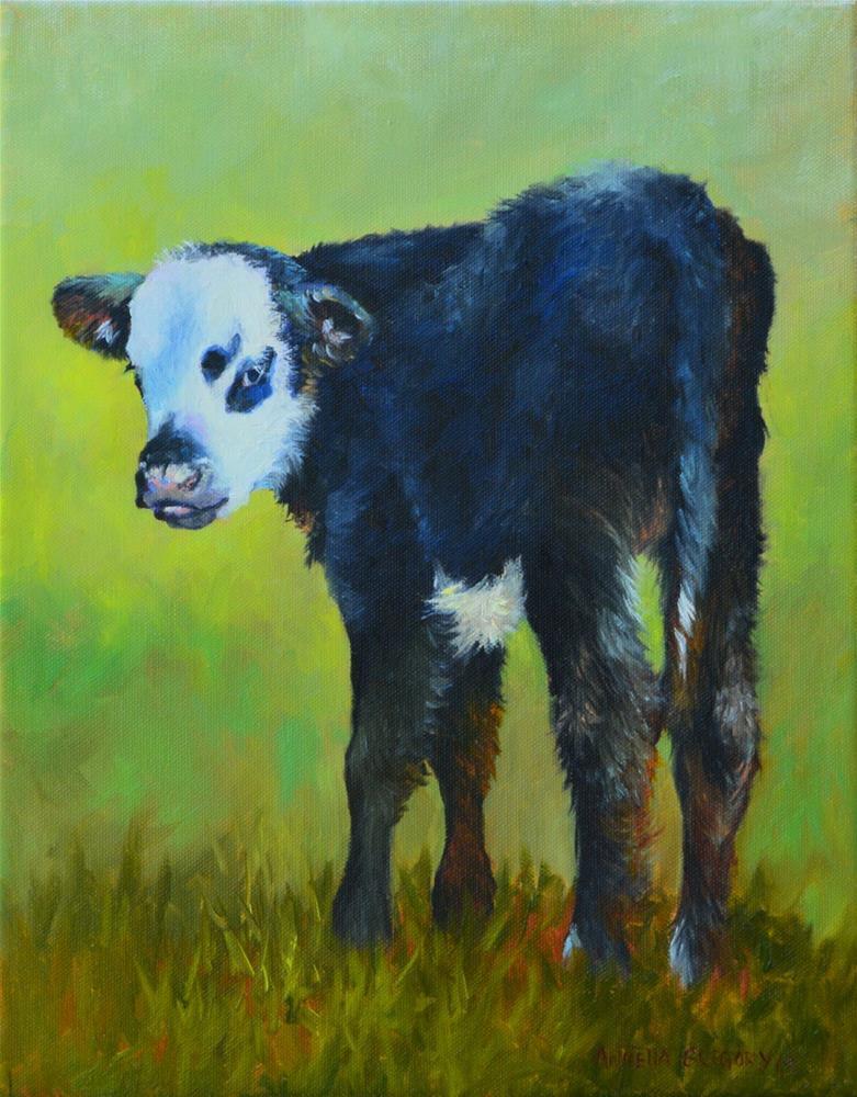 """""""Willie"""" original fine art by Annetta Gregory"""