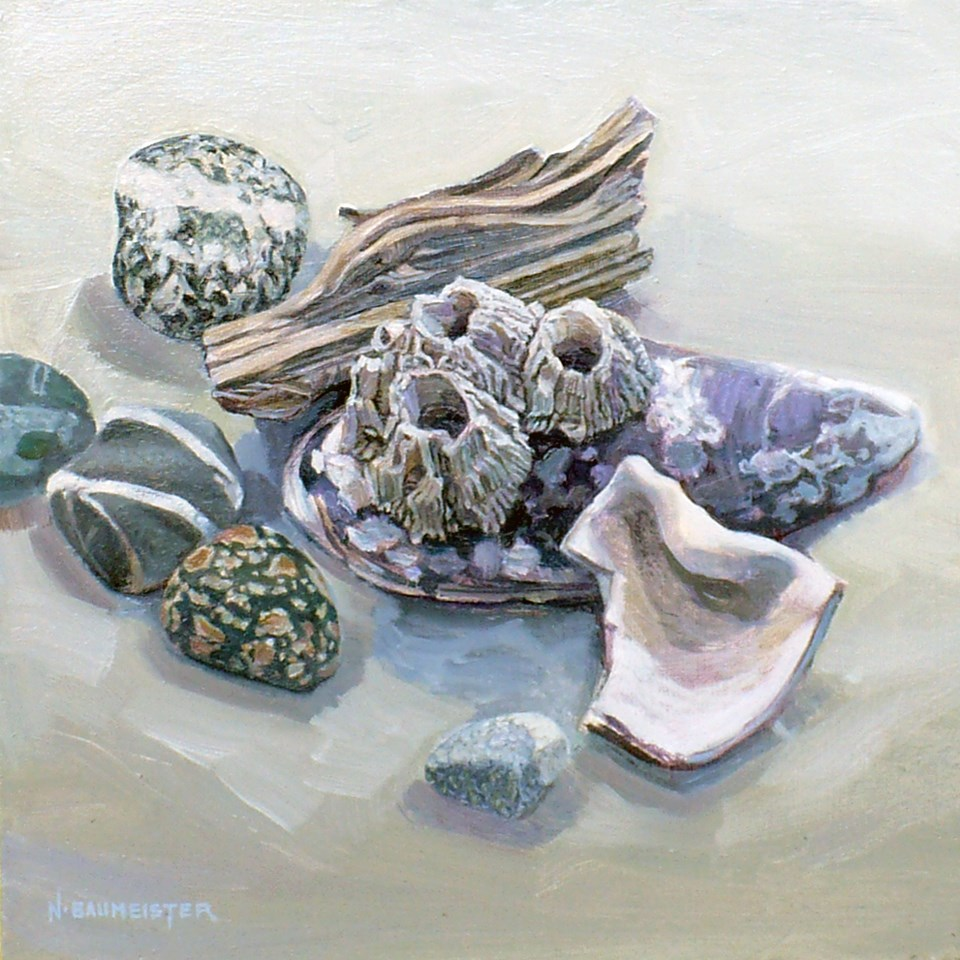 """Beaches:From Barnacle Beach"" original fine art by Nicoletta Baumeister"