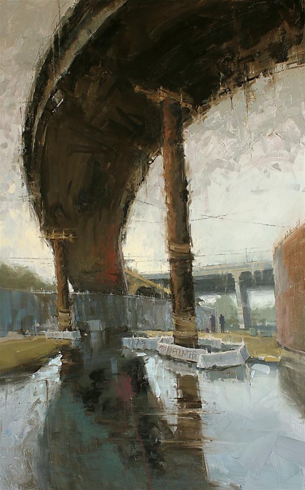 """""""Underbelly"""" original fine art by Kim VanDerHoek"""