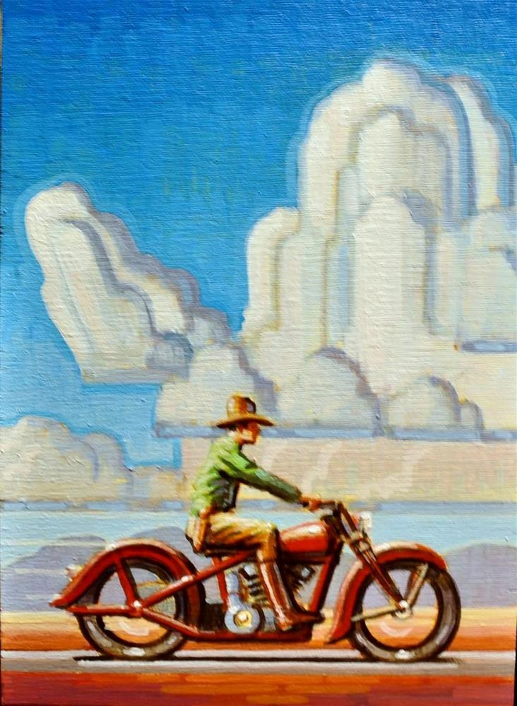 """Cowboy"" original fine art by Robert LaDuke"