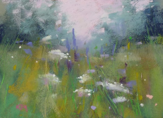"""""""How to Share Unframed Pastel Paintings"""" original fine art by Karen Margulis"""