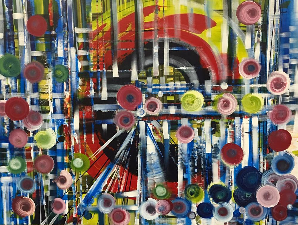 """Carnival"" original fine art by Khrystyna Kozyuk"
