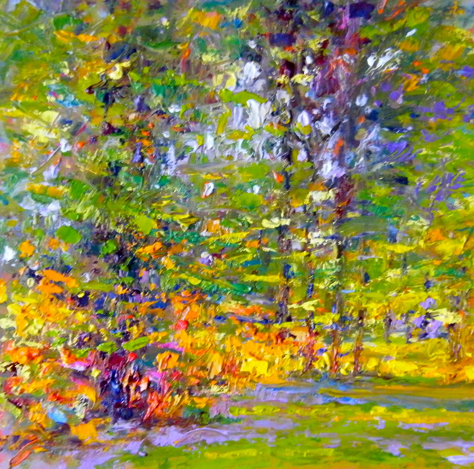 """Early Evening Sun 2"" original fine art by Ken Devine"