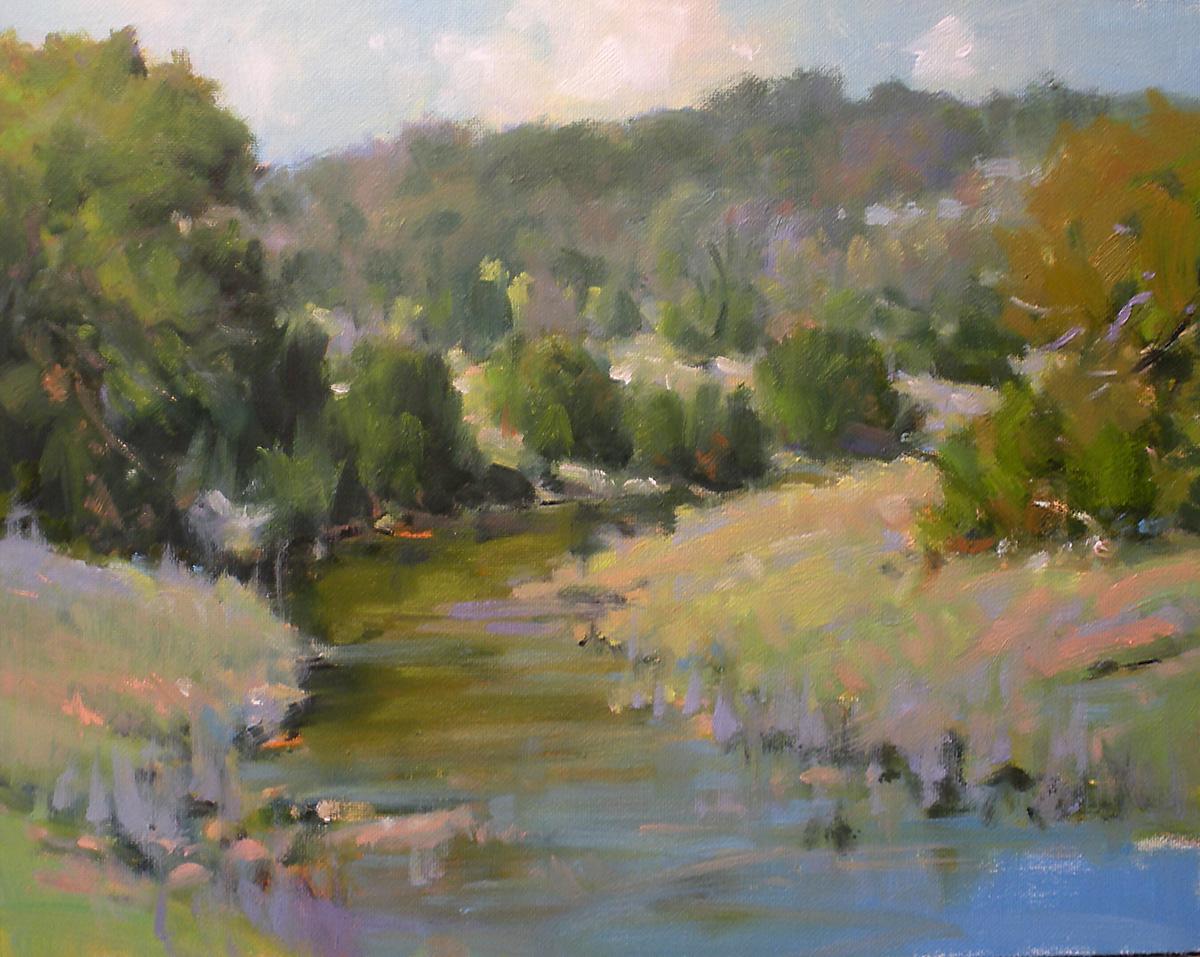 """""""Springs Arrival"""" original fine art by David Forks"""
