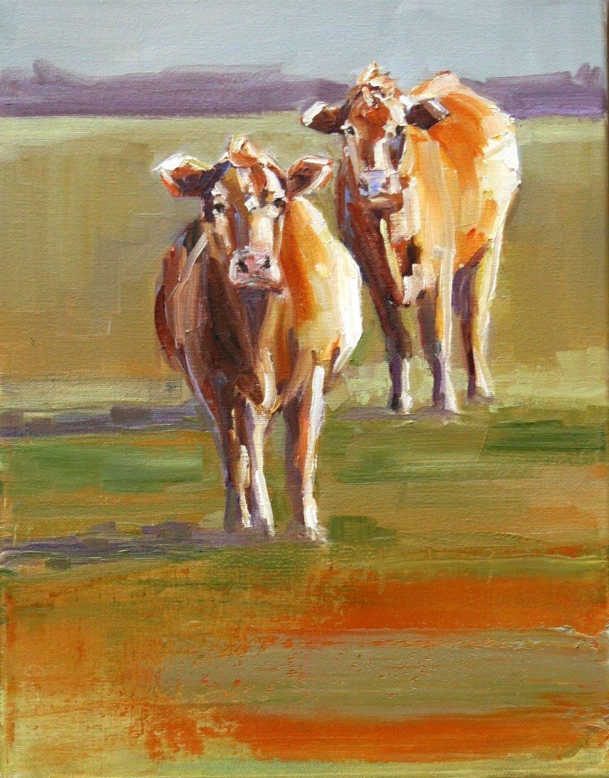 """dippity doo"" original fine art by Carol Carmichael"